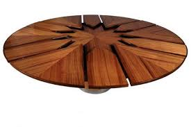 expanding round table for room round tables design spinning expanding round dining table