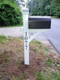 unique mailbox post. Plain Unique Mailbox With Post Standard Side View Unique Ideas  4x4 Anchor Throughout Unique Mailbox Post I