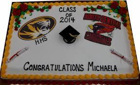 Graduation Grad Cap Fleckensteins Bakery Mokena Illinois