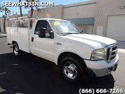 2007 Ford F250 Utility Bed Pick Up Truck - ONLY 70k miles! A41724 ...