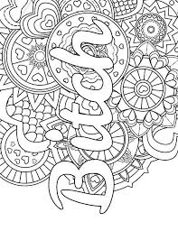 Swear Word Coloring Pages Printable Free Best Of Mandala Adult