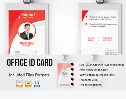 Professional Employee Id Card On Behance