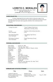 Free Sample Resume For Teachers Noxdefense Com