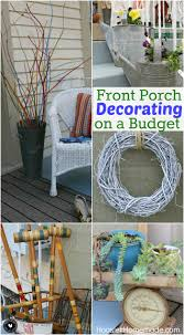 front patio ideas on a budget. Front Porch Decorating Ideas On A Budget Patio W