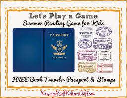 Free Passport Template For Kids Special Connection Homeschool Free Friday Summer Reading Passport 31