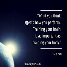Strong Mind Quotes Cool 48 Lessons From MInd Gym By Gary Mack On Runladylike