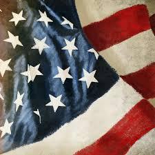 4th painting america flag by setsiri silapasuwanchai