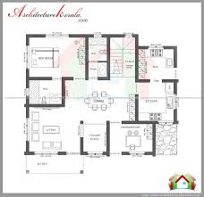 architecture kerala 3 bedroom house plan and elevation consultation room large dining drawing rooms kitchen with architectural drawings floor plans design inspiration architecture