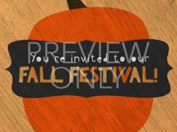 Cute Fall Festival Invite Centerline New Media Worshiphouse Media