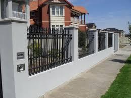 fence design. Download Steel Fence Designs Garden Design With Regard To Metal Decorations 3