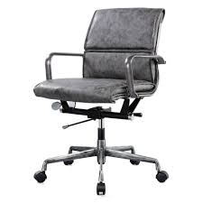 vintage office chairs. Kennedy Vintage Office Chair Gray Chairs S