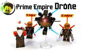 Custom LEGO Unagami Drone from Prime Empire - YouTube