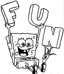 Spongebob Coloring Pages Onli On Sponge Bob Colouring Pages Game Colouring Pages Games L