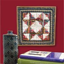 Log Cabin Quilt Patterns Awesome Tiny Cabin Miniature Log Cabin Quilt Pattern The Quilting Company