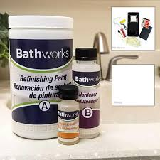 Bathworks 20 Oz Diy Bathtub And Tile Refinishing Kit White
