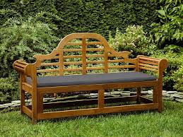 garden furniture cushion garden bench 3 seater pad gray marlboro com
