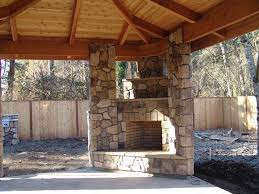 outdoor fireplace and grill designs patio stone plans