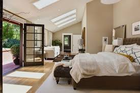Org schon schlafzimmer ideen braun beige. Bedroom With Sloped Ceiling Contemporary Bedroom Urrutia Design