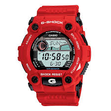 g shock watches men s and ladies h samuel g shock men s red rubber strap watch product number 1039393