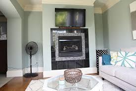 stacked stone fireplace surround bower power