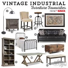 vintage and industrial furniture. Vintage Industrial Furniture Favourites (+ Some Exciting News!) | The DIY Mommy And