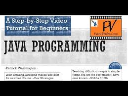 java tutorial for beginners original step by step  java tutorial for beginners original step by step