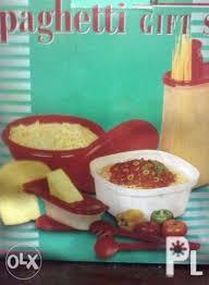 tupperware spaghetti gift set kitchen