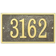 house number plaques home address plaque rectangle fast and easy image house number plaques for vinyl house number plaques