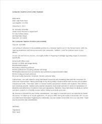 Bunch Ideas Of Sample Cover Letter For Computer Teacher Job Also