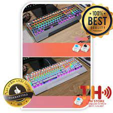 Bàn phím cơ YiNDIAO LEB RGB Vỏ thép siêu đẹp ( Blue switch + Black Switch)