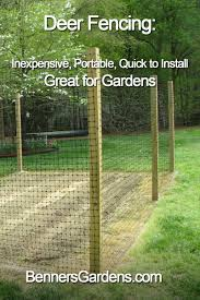 Deer Proof Electric Fence Design Deer Are Creatures Of Habit And If Theyre Used To Munching