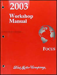 2003 ford focus wiring diagram manual original 2003 ford focus repair shop manual original 119 00