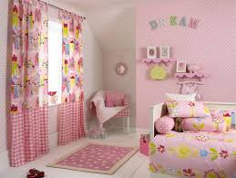 Patterned Wallpaper For Bedrooms Wall Decorations For Girls Bedrooms With Nice Pink And White Round