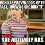 Sheldon Big Bang Theory Meme Generator - Imgflip via Relatably.com