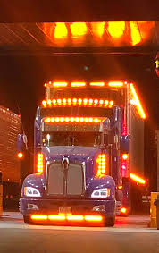 Chrome And Chicken Lights Kenworth With Chicken Lights And Chrome