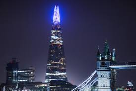 The Shard London Christmas Lights The Shard Christmas Light Show Is Back And Its Dazzling