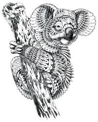 Detailed Animal Coloring Pages Adults Difficult Animals Sheet Online