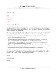 Resume Cover Letter For Administrative Assistant New Resume Cover
