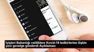 Son dakika haberleri | İçişleri Bakanlığı valiliklere Kovid-19 tedbirlerine  ilişkin yeni genelge gönderdi Açıklaması - Haberler