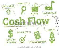 Money Flow Chart Cash Flow Chart Keywords Icons Stock Vector Royalty Free