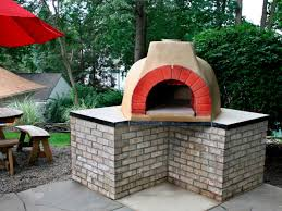outdoor pizza oven plans gas ovens for building backyard bbq combo contemporary kitchen makeovers