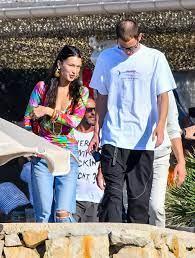 Bella Hadid With Her New Boyfriend Marc ...
