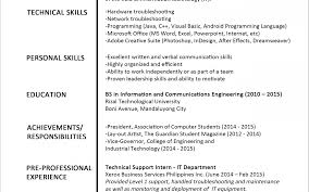 Awesome Jobstreet Resume Sample Download Pictures Inspiration