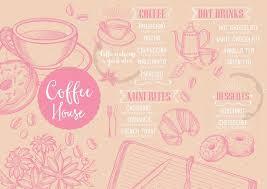 Coffee Restaurant Brochure Template — Stock Vector © Marchi #108544238