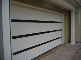 white wood garage door. White Wood Garage Door With Contemporary Painted In Eggshell Charcoal