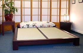 japanese inspired furniture. Raku Tatami Bed Japanese Inspired Furniture