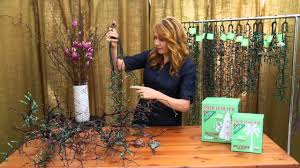 Preserving Tree Branches For Decoration Tree Branch By Nadia Geller Trim It Quick Lighting Youtube