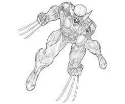 Small Picture 30 Wolverine Coloring Pages Coloringstar Coloring Coloring Pages