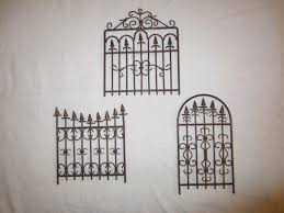 free set of 3 metal garden gate wall art decor sweet free ship other home gardening items listia auctions for free stuff on iron gate wall art with free set of 3 metal garden gate wall art decor sweet free ship