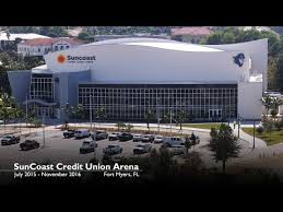 Fsw Suncoast Credit Union Arena Construction Time Lapse